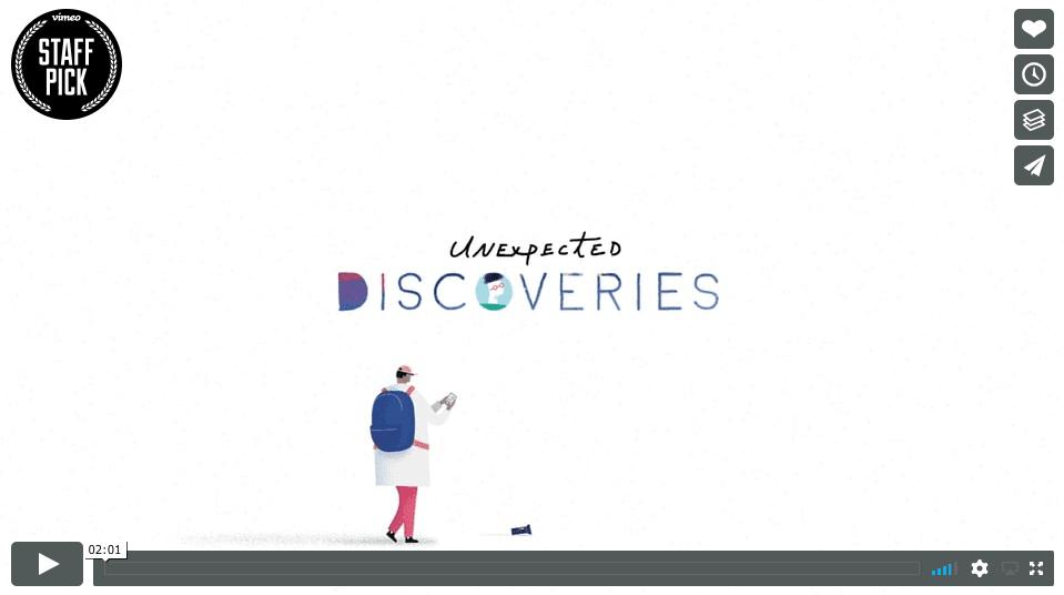 Snímka obrazovky 2018 01 28 o 11.22.45 - Pohyblivá inšpirácia – Unexpected Discoveries