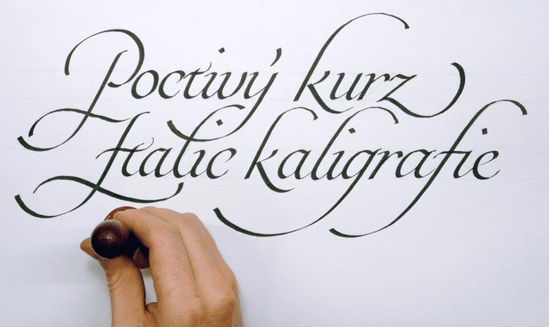 default - Poctivý kurz Italic kaligrafie