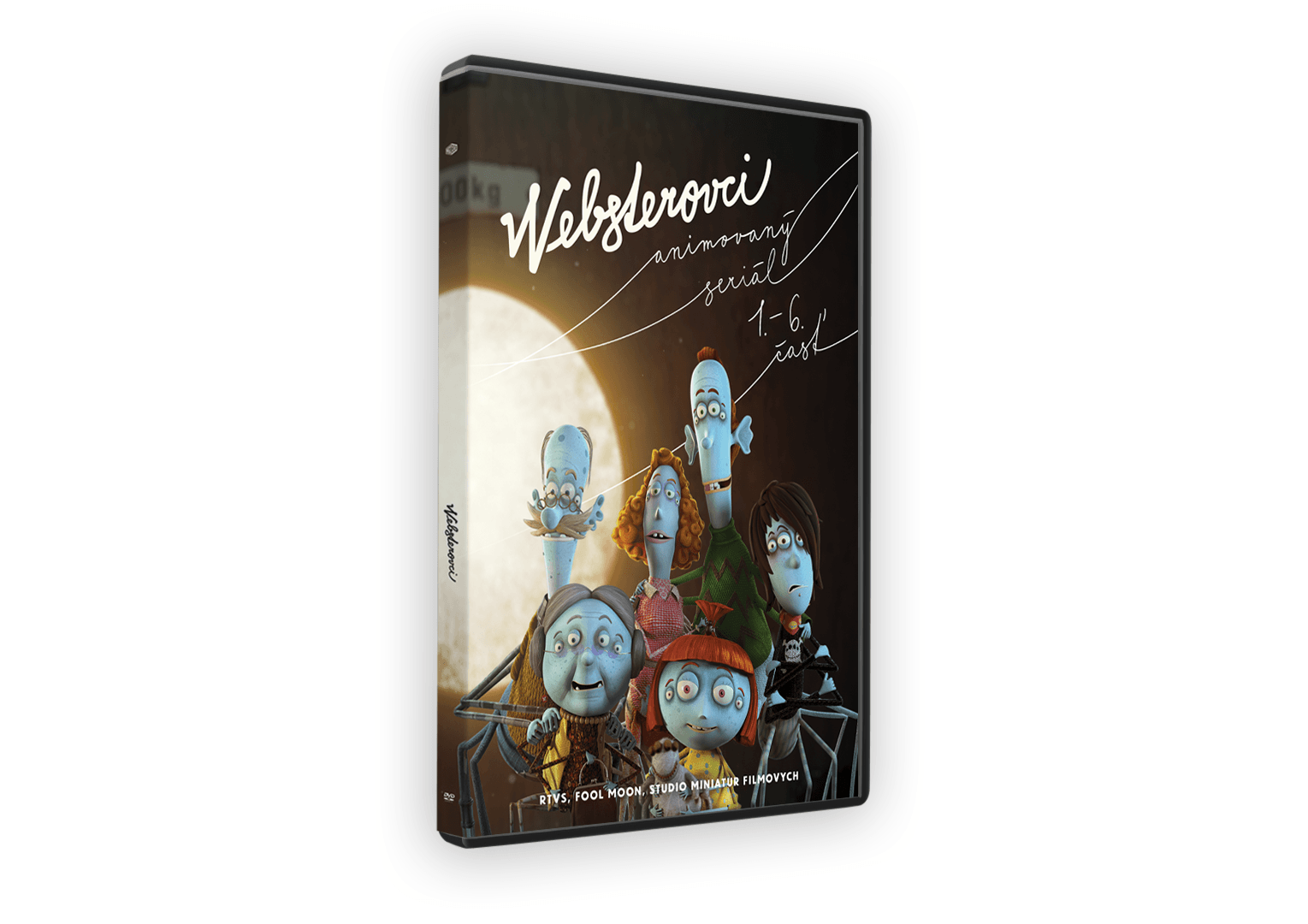 websterovci 3D DVD - Websterovci vychádzajú na DVD