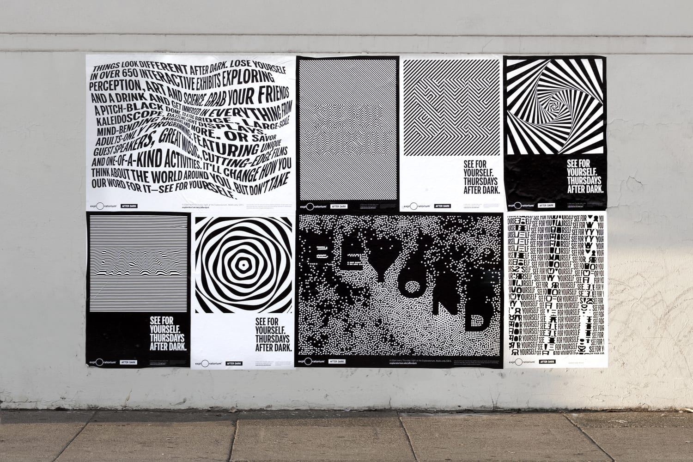 03 Exploratorium After Dark Collins Campaign Posters San Francisco BPO - Inšpirujte sa týmito skvelými postermi