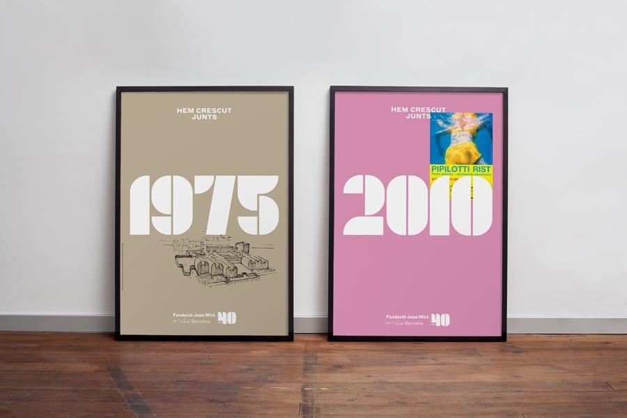 07 Fundació Miró 40th Anniversary Posters BPO - Inšpirujte sa týmito skvelými postermi