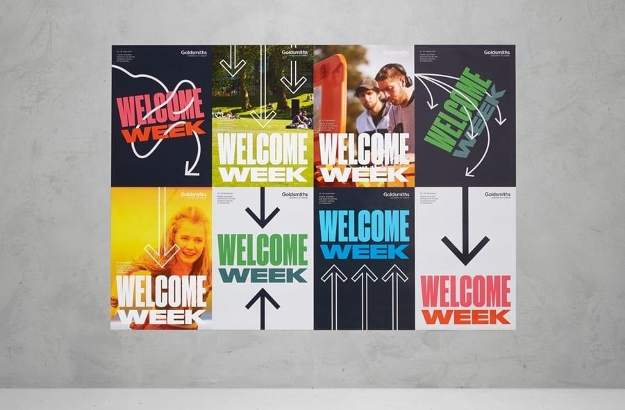 08 Goldsmiths Visual Identity Posters Spy BPO - Inšpirujte sa týmito skvelými postermi