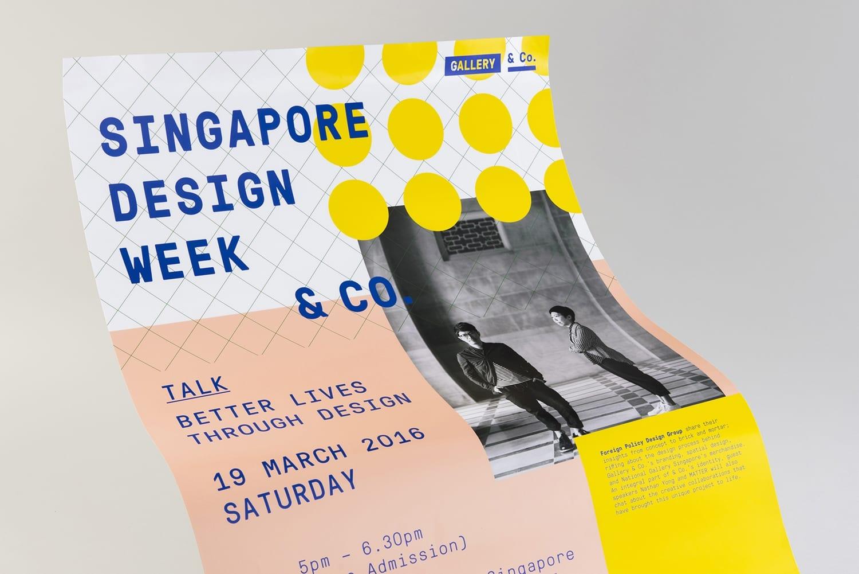 15 Gallery Co Branding Print Poster Foreign Policy Singapore BPO - Inšpirujte sa týmito skvelými postermi