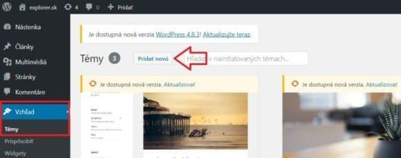 2 vytvorenie blogu vo wordpresse 580x229 - Návod ako si založiť blog cez WordPress aj keď ste doteraz nikdy neprogramovali