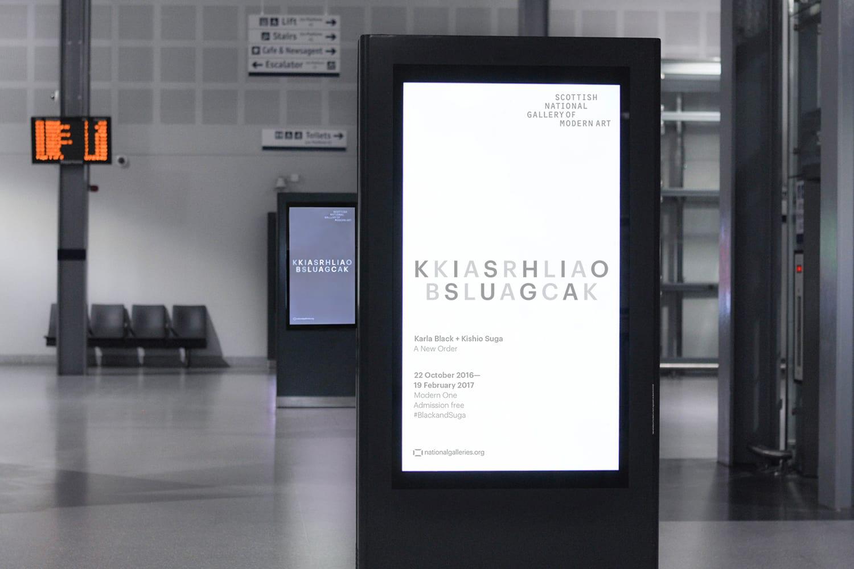 21 Karla Black Kishio Suga A New Order Branding Print Campaign Poster O Street UK BPO - Inšpirujte sa týmito skvelými postermi