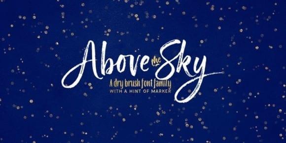 251498 580x290 - Font dňa – Above the Sky