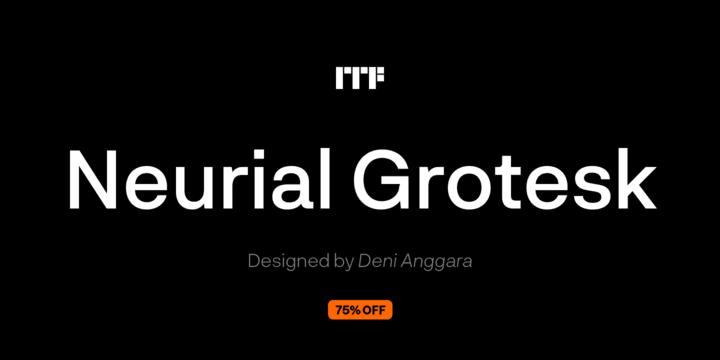 257004 - Font dňa – Neurial Grotesk