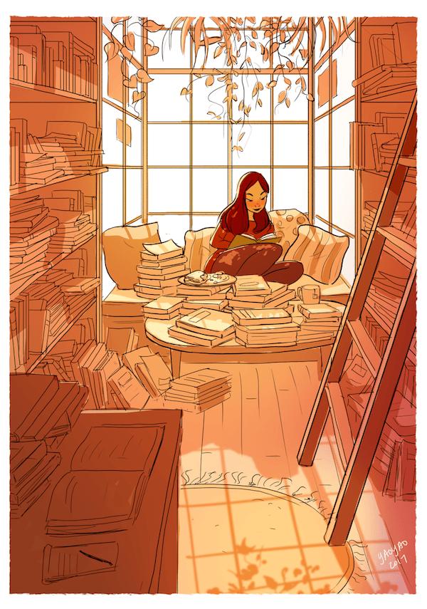5 Illustrator YaoyaoMaVanAs Happiness Perks Living On Your Own - Ilustrátorka trefne zhrnula výhody šťastného života na vlastnú päsť
