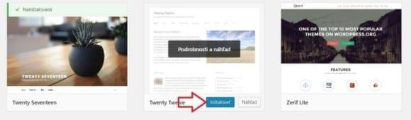 5 instalacia najdenej sablony wordpress blog 580x169 - Návod ako si založiť blog cez WordPress aj keď ste doteraz nikdy neprogramovali