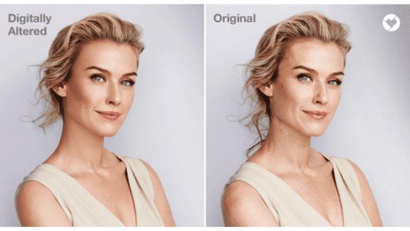 CVS Health Pharmacy Beauty Campaigns Photoshop 1 580x327 - Lékárna CVS Pharmacy slibuje, že vbudoucích beauty kampaních nevyužije Photoshop
