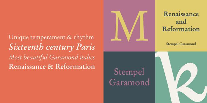 Garamond - 10 nejdůležitějších písem vgrafickém designu