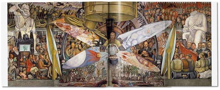 diego rivera taschen publication itsnicethat 10 - Taschen vydává nejrozsáhlejší studii o práci Diega Rivery