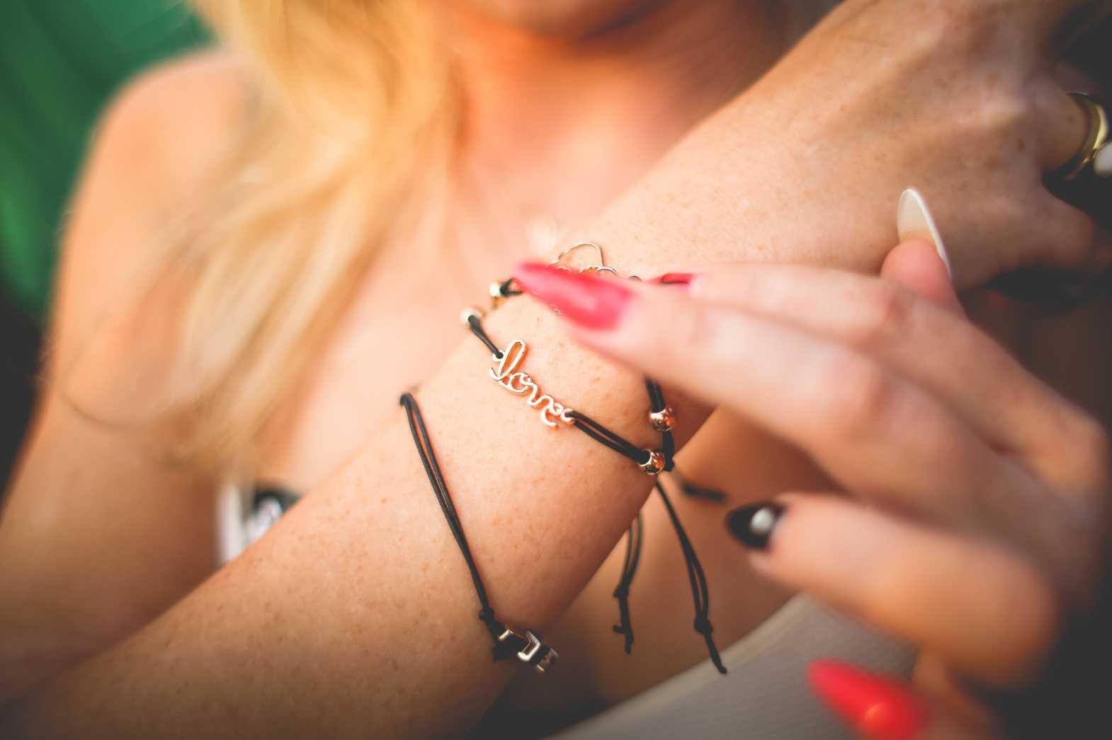 Free stock photo of Love Bracelet from picjumbo.com