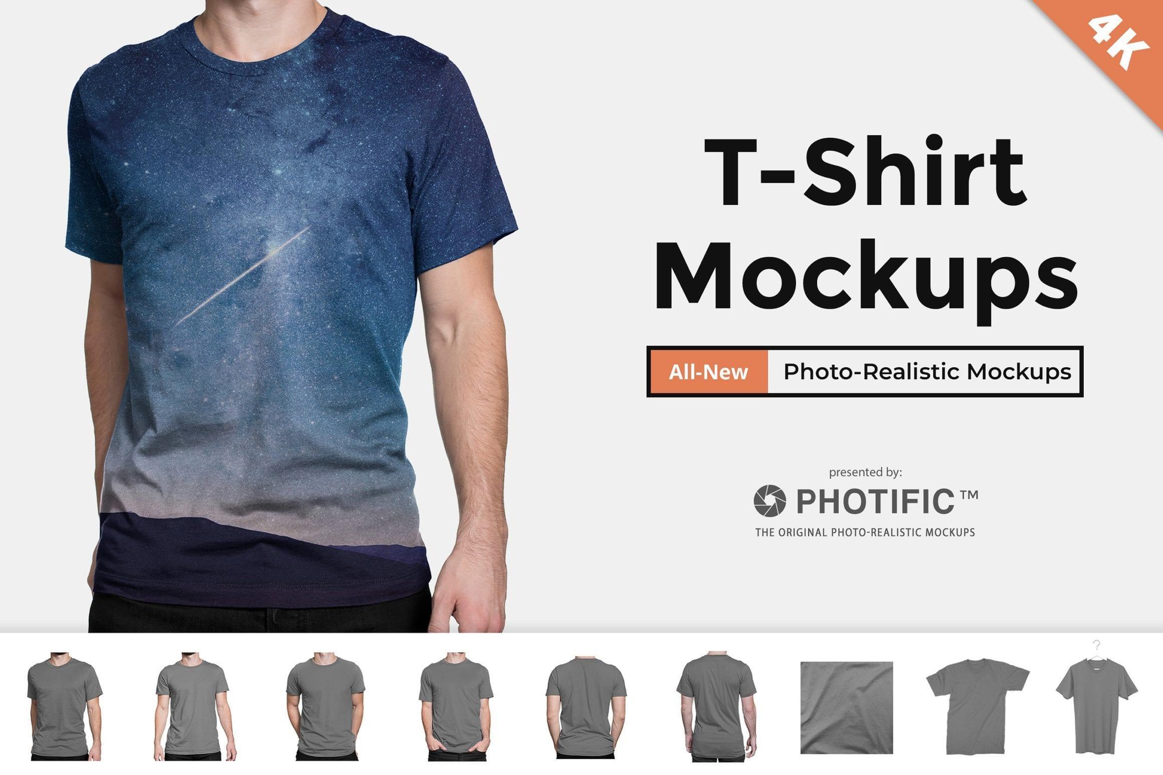 web universal mens fit  - Mockup tričiek zadarmo!