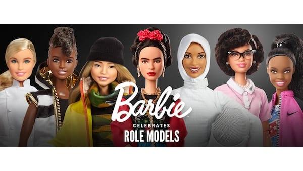 1q Mattel Barbie Women Role Models InternationalWomensDay - Mattel proměnil Fridu Kahlo a dalších 16 výjimečných žen do role Barbie