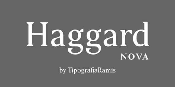 231400 580x290 - Font dňa – Haggard Nova