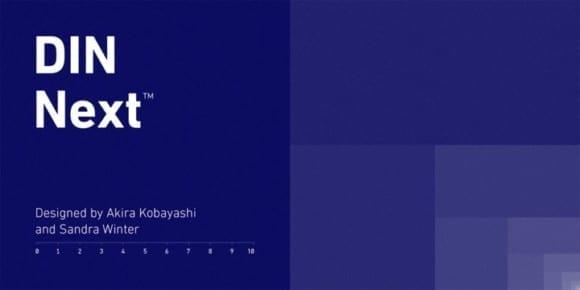 240994 580x290 - Font dňa – DIN Next