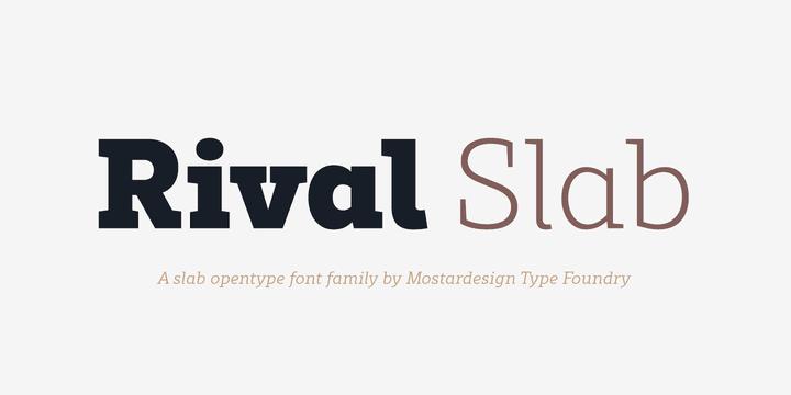 254468 1 - Font dňa – Rival Slab