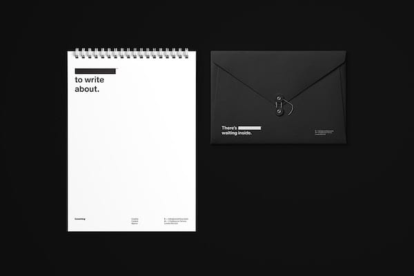 """5 No Logo LogoDesign Branding Creativity - """"No Logo"""" – design loga, který chytře využívá mozek kpodvědomému vyplnění prázdného místa"""
