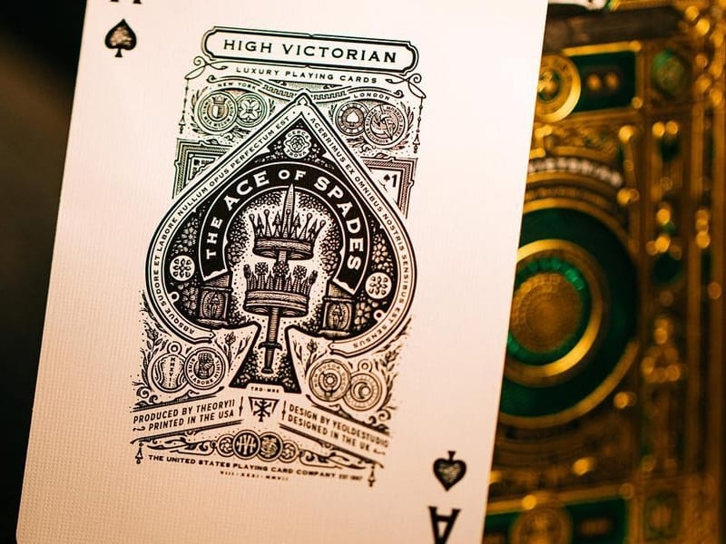 High Victorian Playing Cards 011 - Ach, tie obaly – High Victorian Playing Cards