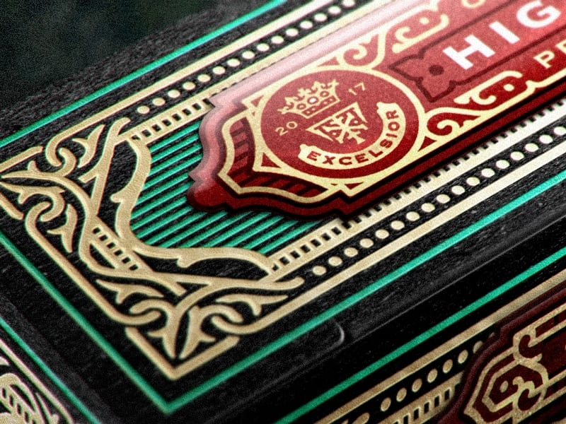 High Victorian Playing Cards 024 - Ach, tie obaly – High Victorian Playing Cards
