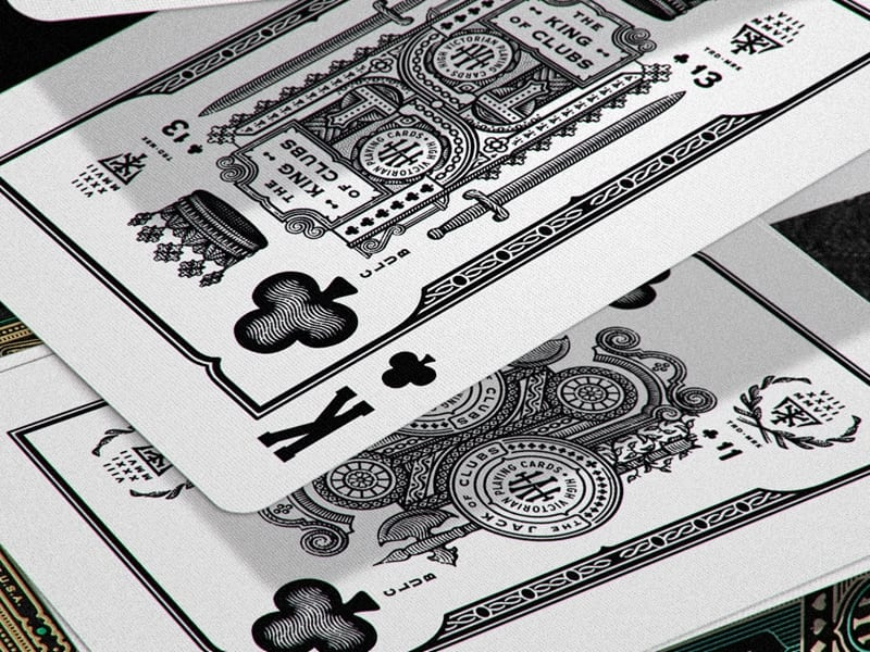 High Victorian Playing Cards 028 - Ach, tie obaly – High Victorian Playing Cards