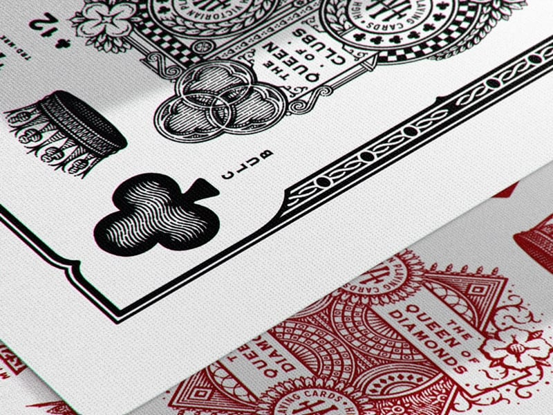 High Victorian Playing Cards 029 - Ach, tie obaly – High Victorian Playing Cards
