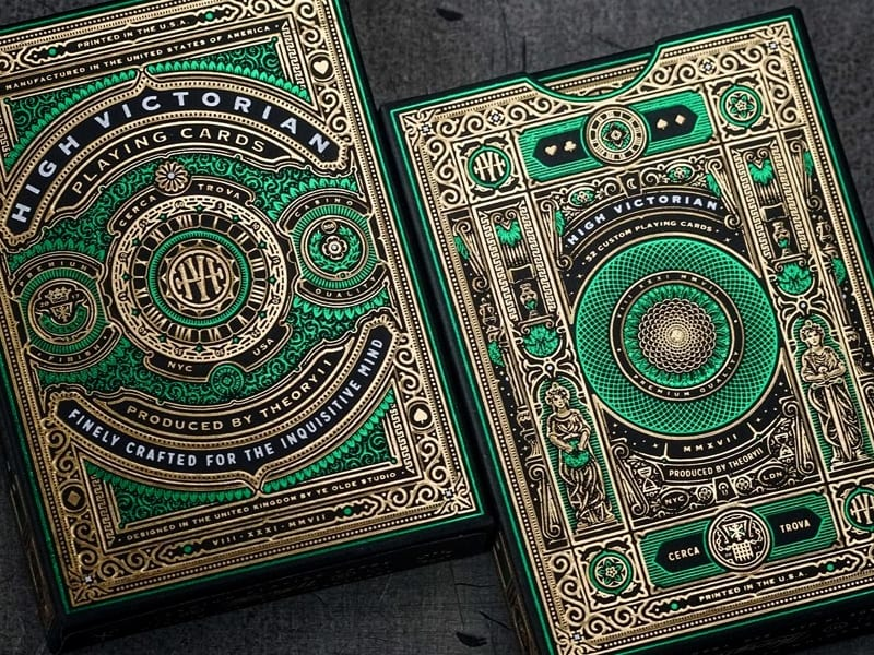 High Victorian Playing Cards 08 - Ach, tie obaly – High Victorian Playing Cards