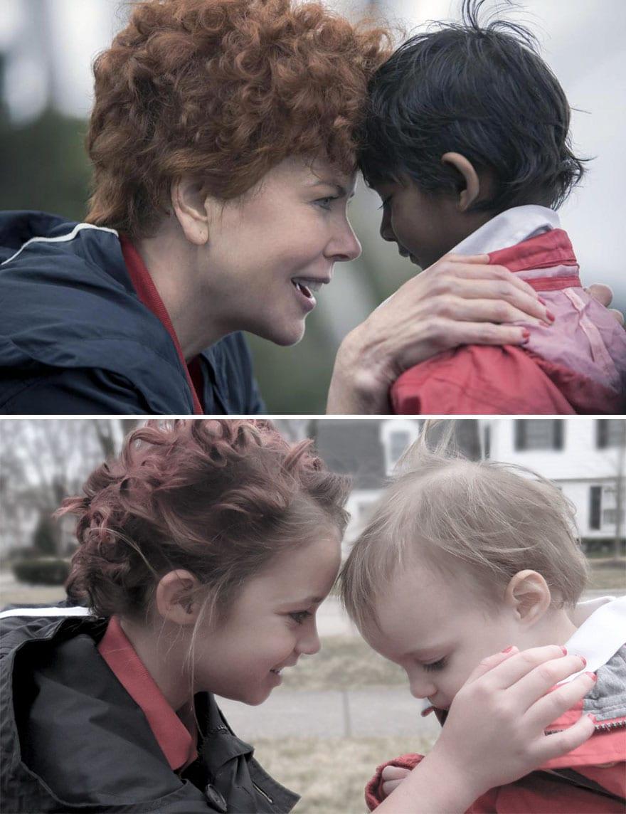 Mother uses children to recreate Oscar nominated movie scenes and the result is very lovely 5aa244203d823 880 - Mama zabavila svoje dcéry naozaj kreatívne! Nafotili scény z filmov nominovaných na Oscarov