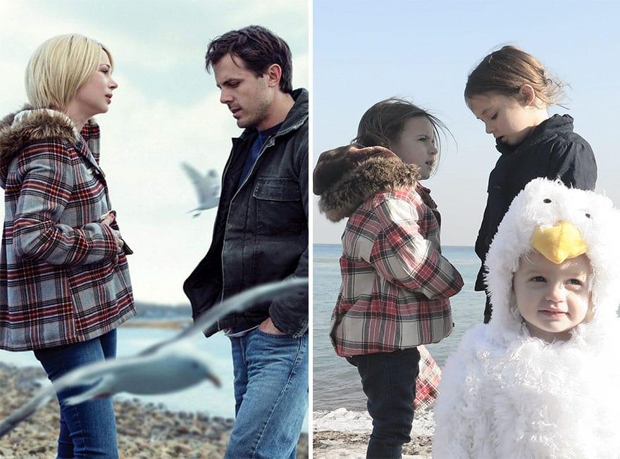 Mother uses children to recreate Oscar nominated movie scenes and the result is very lovely 5aa24428471be 880 - Mama zabavila svoje dcéry naozaj kreatívne! Nafotili scény z filmov nominovaných na Oscarov