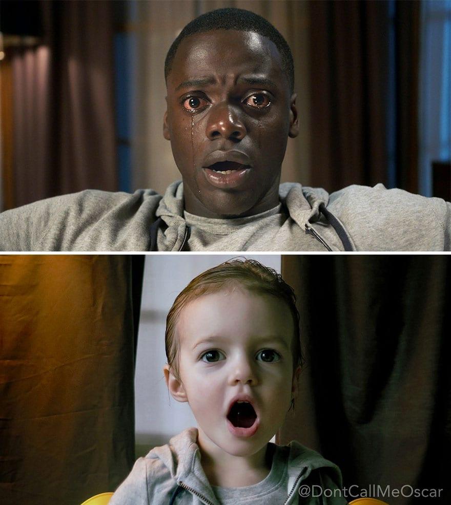Mother uses children to recreate Oscar nominated movie scenes and the result is very lovely 5aa2443532655 880 - Mama zabavila svoje dcéry naozaj kreatívne! Nafotili scény z filmov nominovaných na Oscarov