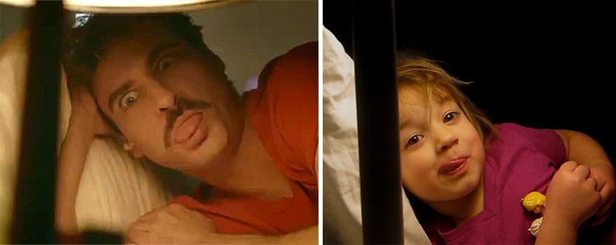 Mother uses children to recreate Oscar nominated movie scenes and the result is very lovely 5aa2505e618cf 880 - Mama zabavila svoje dcéry naozaj kreatívne! Nafotili scény z filmov nominovaných na Oscarov