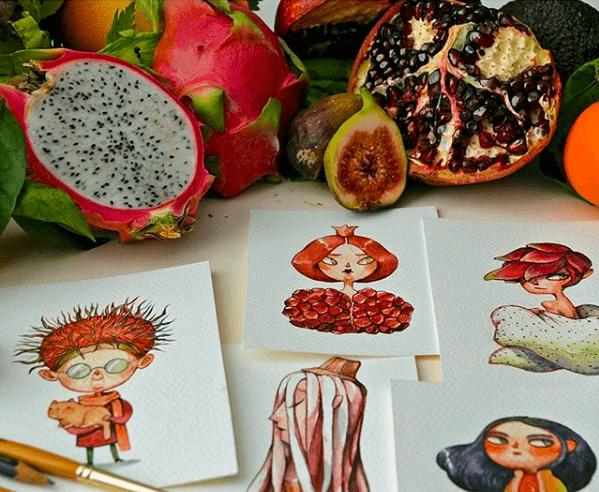Snímka obrazovky 2018 03 05 o 20.03.16 - 11 malieb ovocia a zeleniny, ktoré získali vlastnú osobnosť