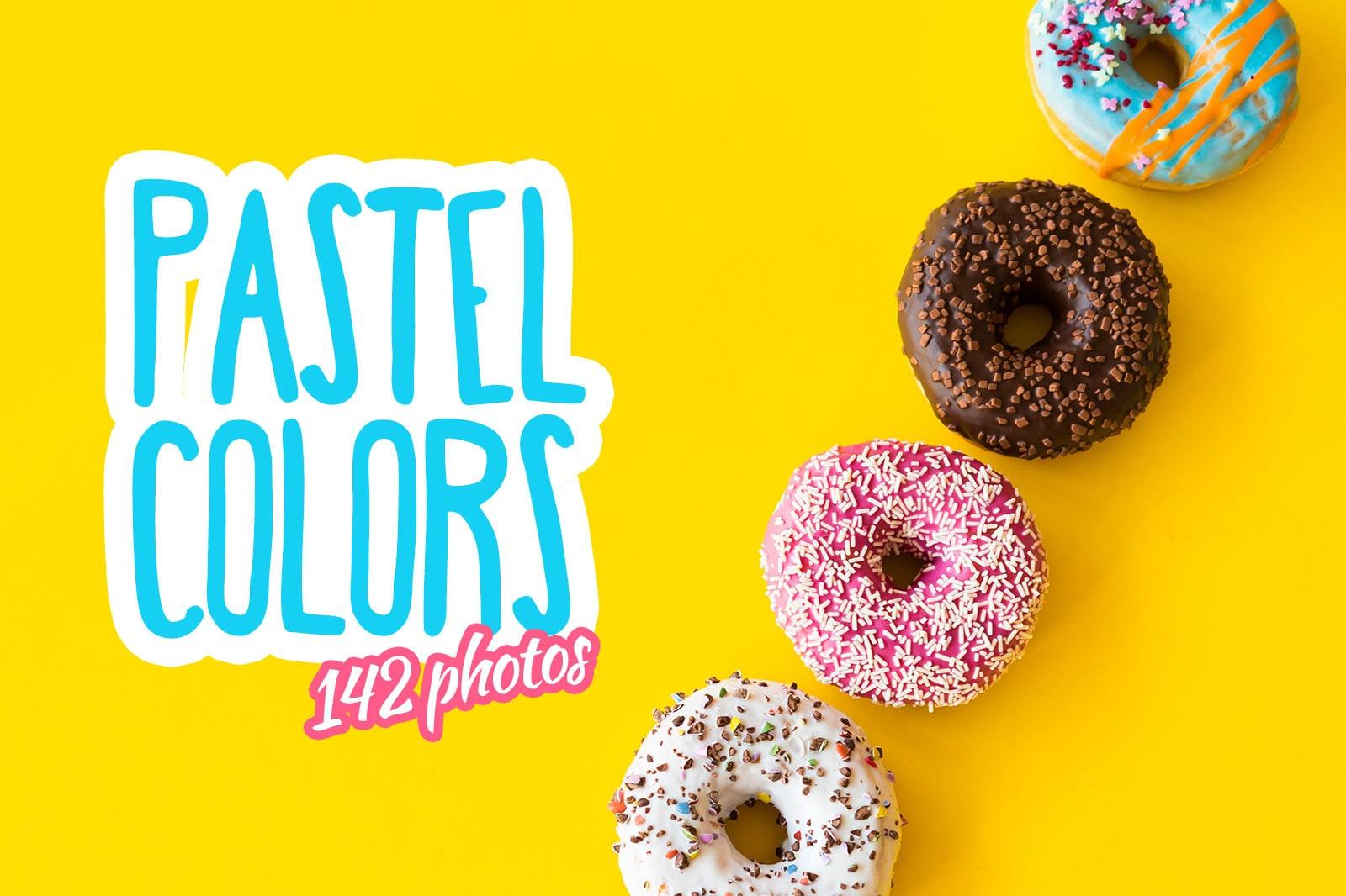 cover pastel colors collection - Česká fotobanka picjumbo vydala novou fotokolekci plnou pastelových barev