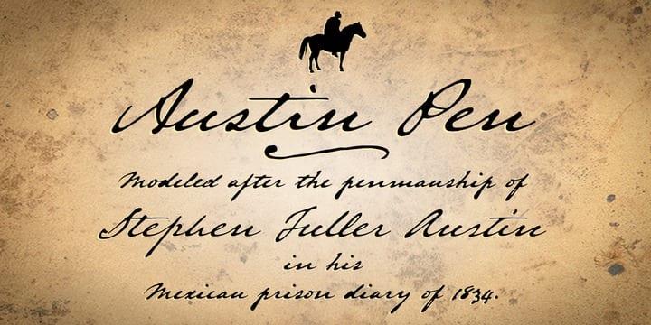 260274 - Font dňa – Austin Pen