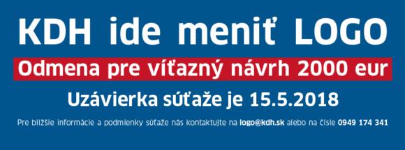 31290631 10156518140698291 7374464662617718784 n 580x215 - Kresťanskodemokratické hnutie (KDH) vyhlasuje súťaž na nové logo