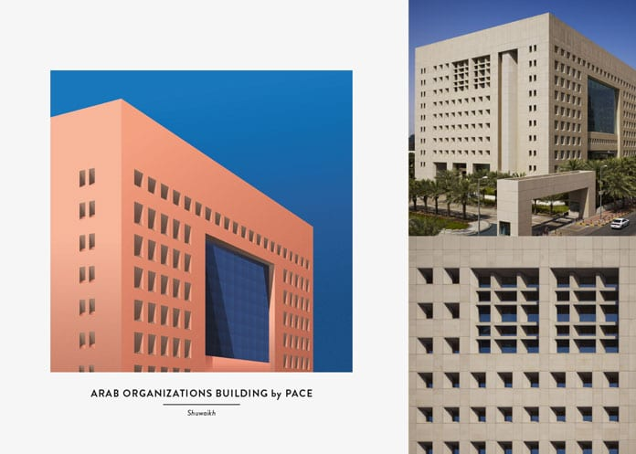 8 Arab Organizations Building - Architektonické ilustrace Renaty Jakab pro PACE Architecture