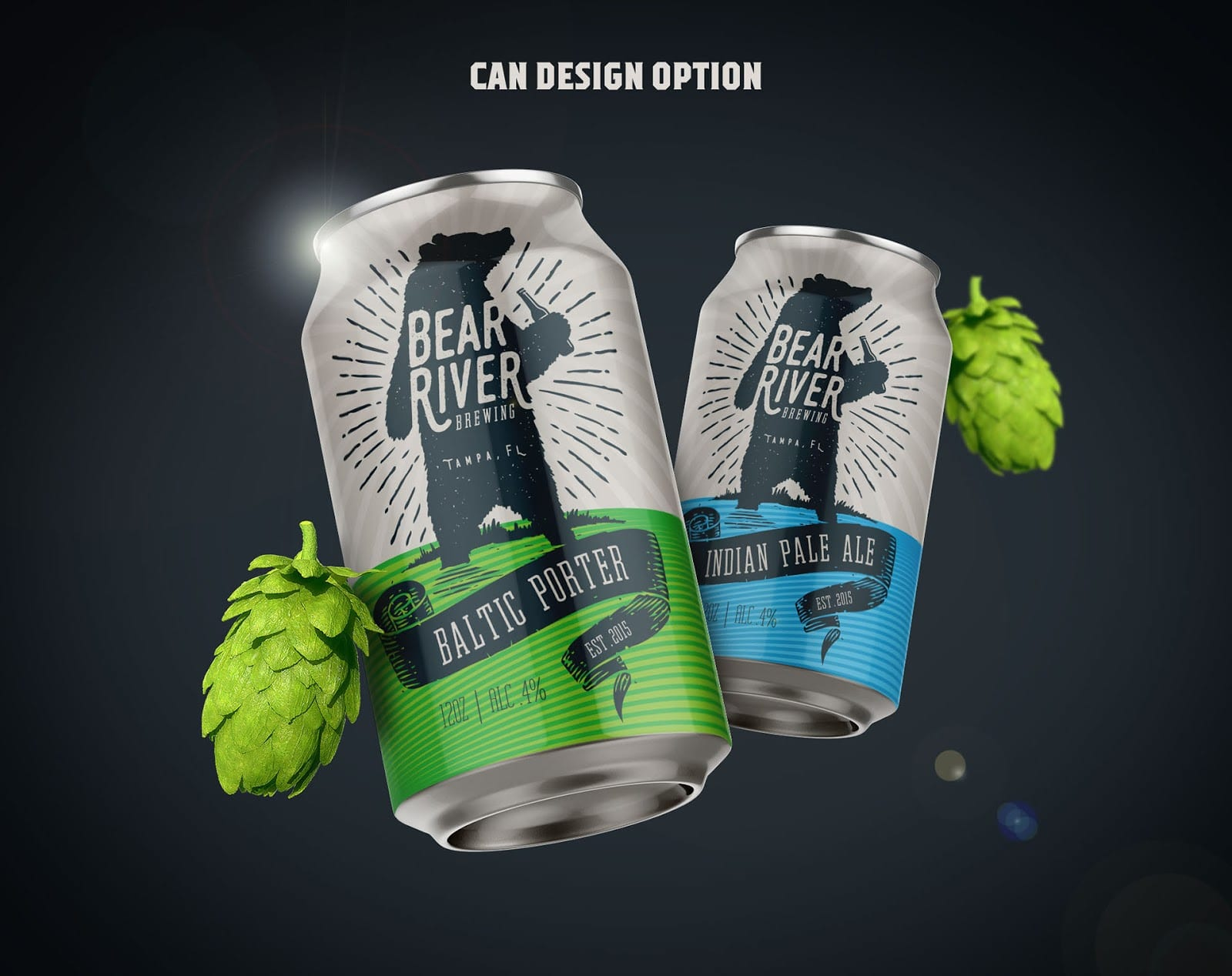 Bear River Brewing Branding 025 - Ach, tie obaly – Bear River Brewing