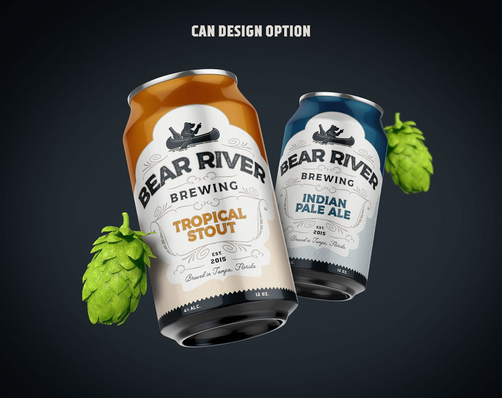 Bear River Brewing Branding 026 - Ach, tie obaly – Bear River Brewing