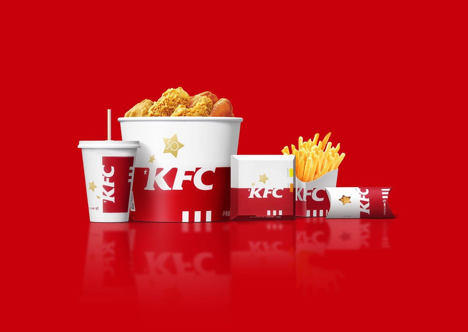 KFC China 30 years Rebrand 01 - Ach, tie obaly – čínský rebrand KFC