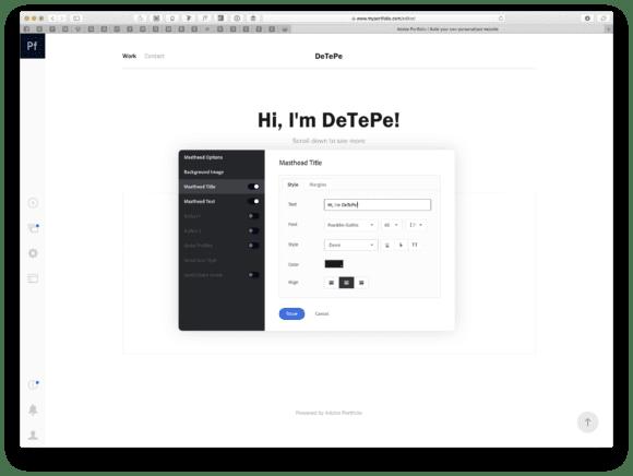 01 1 580x436 - Vytvorte si vlastné web portfólio s Adobe