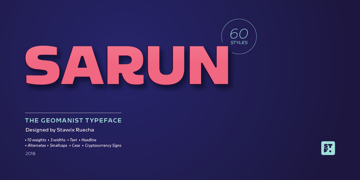 259526 - Font dňa – Sarun Pro