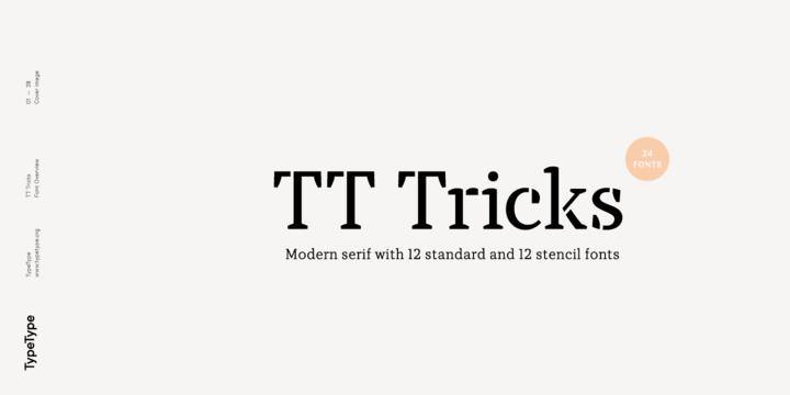 260055 - Font dňa – TT Tricks