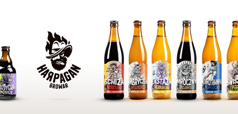 Harpagan Brewery 1 - Harpagan Brewery přichází s obalem plným vášně