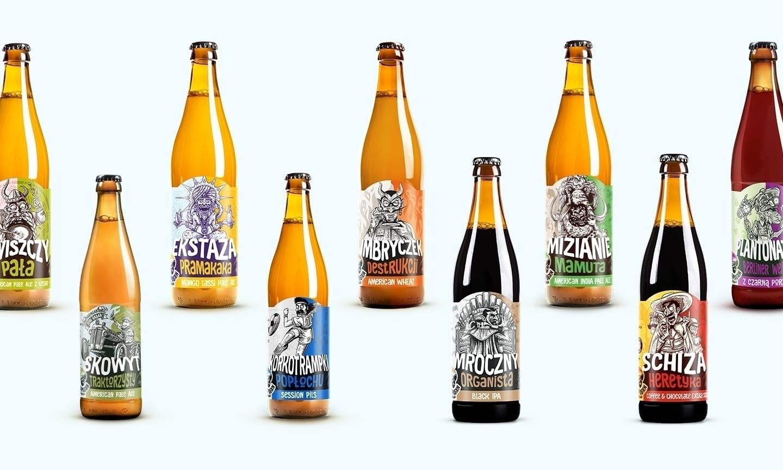 Harpagan Brewery 9 - Harpagan Brewery přichází s obalem plným vášně