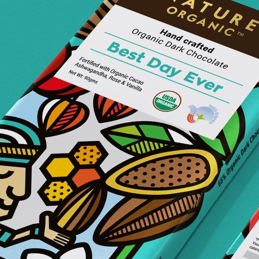 Nature Organic Chocolates 010 - Ach, tie obaly – Nature Organic Chocolates