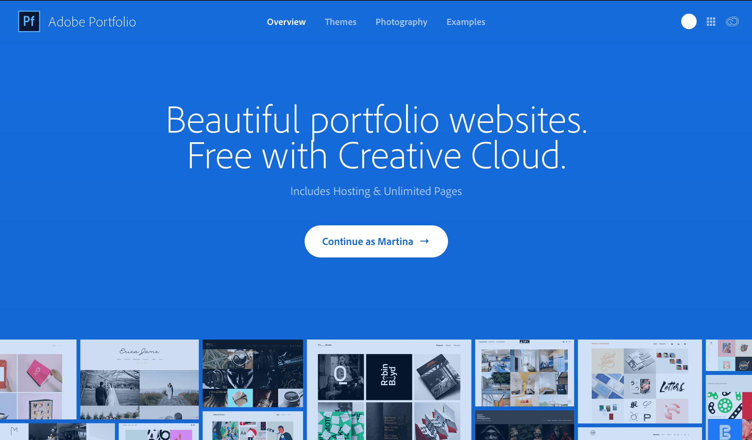 cover - Vytvorte si vlastné web portfólio s Adobe