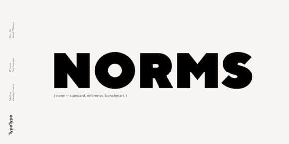 236491 580x290 - Font dňa – TT Norms