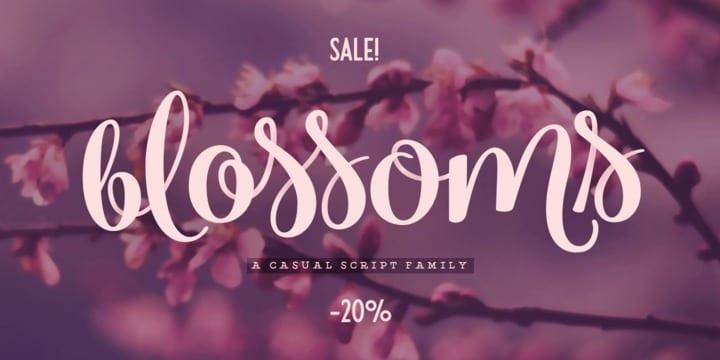249852 - Font dňa – Blossoms