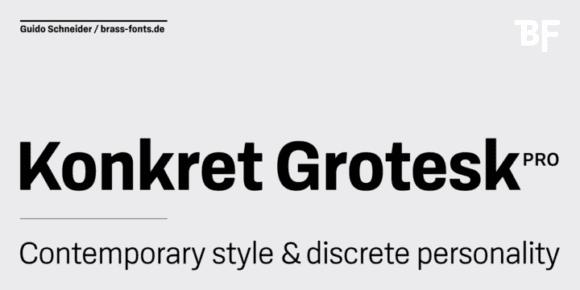 263433 580x290 - Font dňa – BF Konkret Grotesk Pro